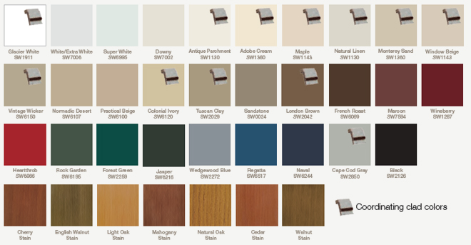 Entry Doors Paint & Stain Options