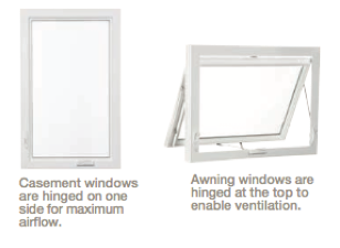 Casement & Awning Window Features