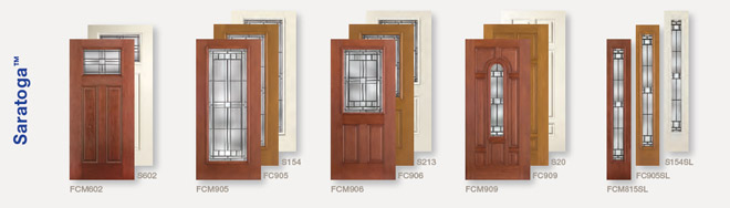 Front Door Collections & Glass Styles