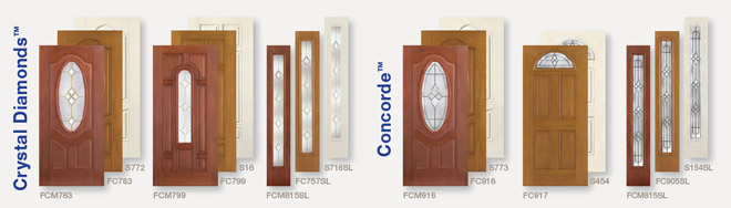 Front Doors Collection & Glass Styles