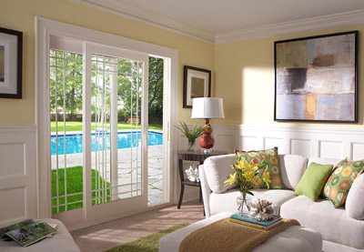Traditional French Patio Doors on