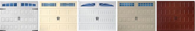 Oak Summit® Garage Doors