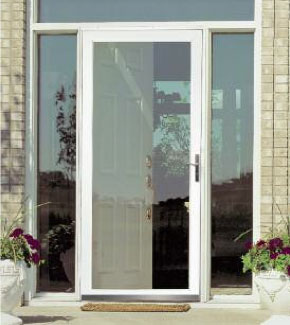 Attirant A Revolutionary Security Storm Door With An Unobstructed View From The  Outside Of Your Home.