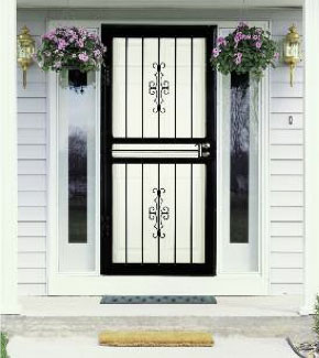 Courtyard Steel Security Storm Door & Storm Doors Denver CO | Security Doors Denver pezcame.com