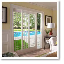 French Rail Doors