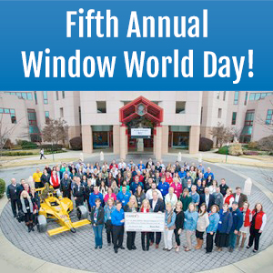 Window World Celebrates Fifth Annual Window World Day With Patients of St. Jude Childrens Research Hospital