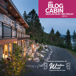 Window World Sponsors Blog Cabin for Third Year in a Row