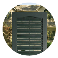 Louvered Shutters D.C.
