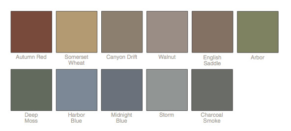 Vinyl siding colors from window world of dallas fort worth for Popular vinyl siding colors