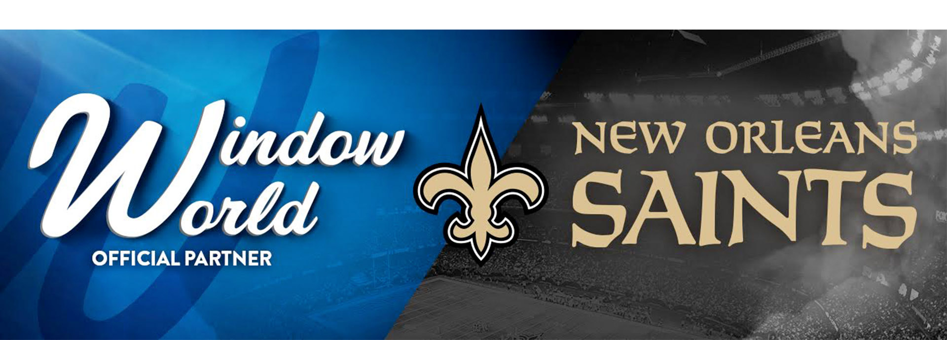 window world and new orleans saints