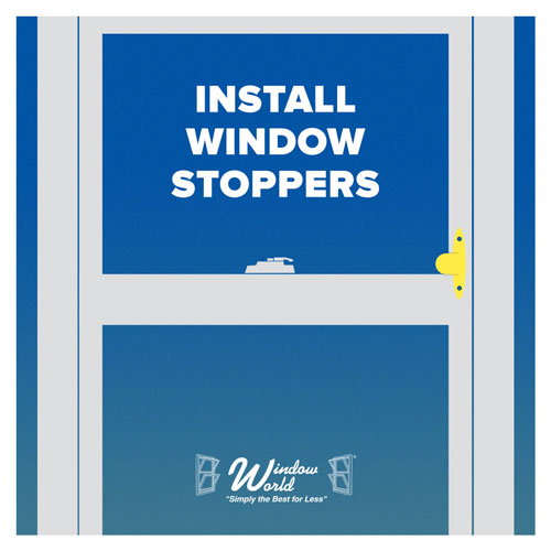 Install Window Stoppers