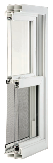 Double Hung 4000 Series Window Features