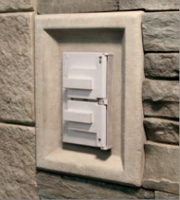 Versetta Stone® Receptacle Box