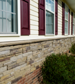 Stone Siding Window World Of Central Alabama