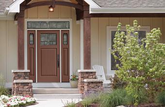 Classic-Craft Door with Homeward Glass